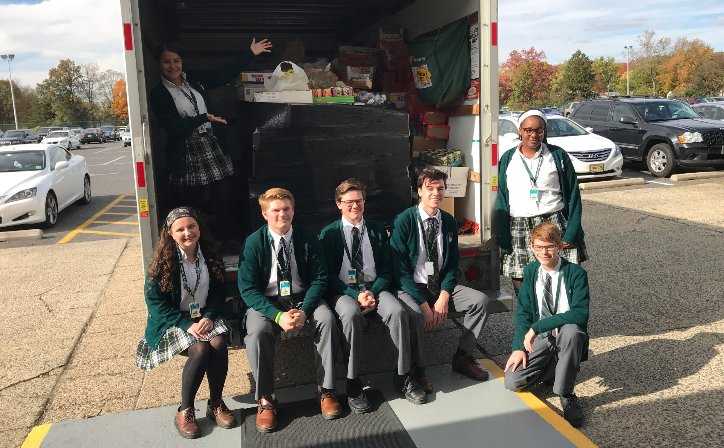 Food Drive Breaks Records