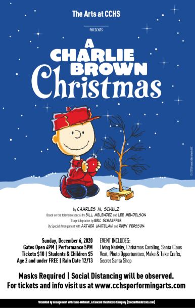 Charlie Brown Christmas Shown On December 6, 2020 The Arts at CCHS Present: A Charlie Brown Christmas – CCHS